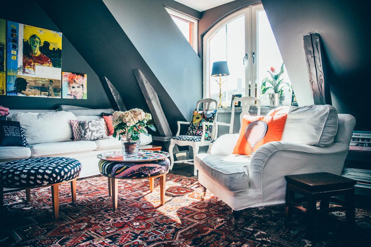 Организация пространства в квартире с мансардой