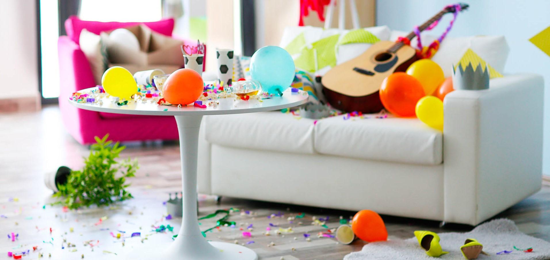 Квартира после праздников: как быстро привести в порядок